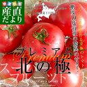 北海道より産地直送 下川町のスーパーフルーツトマト プレミアム 北の極 <特秀>