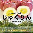 【送料無料】いわて中央 小さな完熟りんご!「じゅくりん」5キロ(16から20玉)3,580円・送料無料!