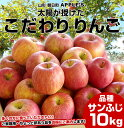 送料無料 山形県より産地直送 山形朝日町APPLE'S 極旨りんご 約9〜10キロ 林檎 りんご リンゴ