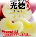話題の蜜入りんご!山形 朝日町 APPLE'S「光徳(こうとく)」2キロ(8玉〜12玉)3,980円