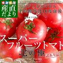 北海道より産地直送 下川町のスーパーフルーツトマト <北の極> 訳あり品 大ボリ