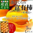 福岡県から産地直送 JA筑前あさくら  あさくらの富有柿  ...