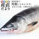 送料無料 北海道から直送  北海道加工  時鮭(トキシラズ)...