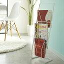 【YAMAZAKI/山崎実業】 Magazine Stand tower マガジンスタンド タワー【収納 本 雑誌 BOOK ラック デザイン雑貨 インテリア】