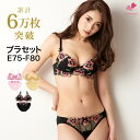 It is come up EF size bra / bra set / bra show / bra &amp;amp; panties / brassiere / brassiere / bra panties [TS-1451] [E75-F80] by Rakuten ranking regular customer bra set! [Mie inner Lady's] (_ Rakuten _ mail order / set /3/4 cup bra &amp;amp; panties)