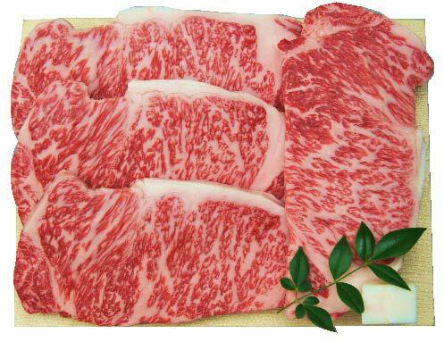 【送料込み】国内産黒毛和牛ロースステーキギフトセ...の商品画像