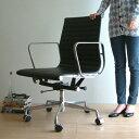 【デザイナー:チャールズ&レイ・イームズ】 商品名:アルミナムグループチェアー「 ミドルバック」 プレミアム【Aluminum Group Chair】【リプロダクト・ジェネリック】【PCチェア】【リクライニング】【昇降式】