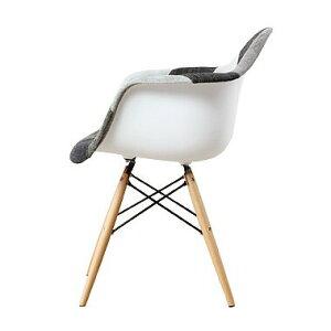 【組み立て済み】【デザイナー:チャールズ&レイ・イームズ】商品名:シェルアームチェア(DAW)カジュアル【復刻版・ジェネリック・リプロダクト】【椅子】【PCチェア】【ダイニングチェア】【CH7191】