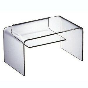 純粋無垢の透明感。シンプルで飽きないアクリルのテーブル。WAAZWIZ(ワーズウィズ)【送料無料】Dearbookusers(TV台にも最適)【CanadaFesta2010】【10P08mar10】【P08mar10新規店】【P0222】