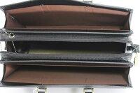 S-539S渉外鞄ブリーフケース防犯SEブザー付ビジネスバッグ日本製