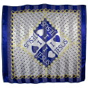 ショッピングバンダナ Bandana 衣類 セーター I Love Jesus 38 Satin Scarf - Headwrap Square (Blue)