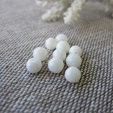 白珊瑚丸玉のビーズ(10個セット)4〜4.5ミリ・貫通穴