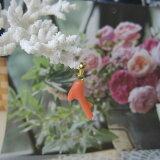 ピンク珊瑚の枝ペンダントトップ真鍮/天然素材/コーラルアクセ