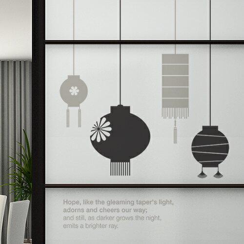 ホームインテリア _ウォールステッカー、ライト、おしゃれ、カフェ、和風、照明