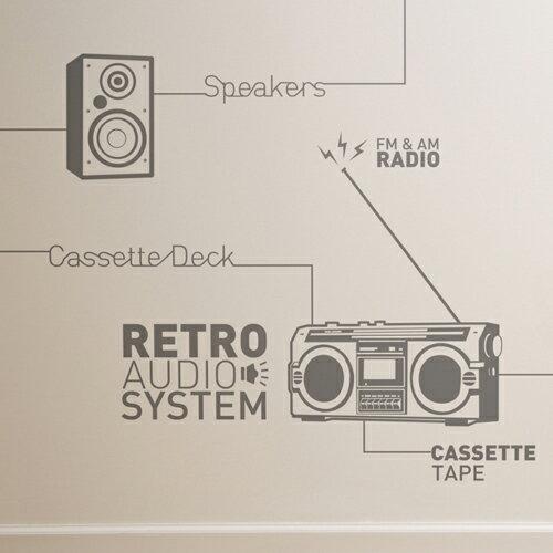 ウォールステッカー _ ミュージック、音楽