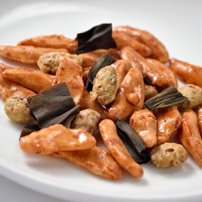 豆菓子北海道産柿の種・辛味噌味大豆・サクサク昆布ミックス65gお菓子/和菓子/お茶菓子/プレゼント/