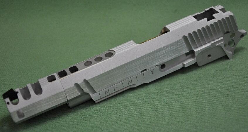 CP ヒーローカスタム 東京マルイ Hi-CAPA5.1用 INFINITY HERO Silver CP-TMS051-05S-85000