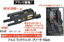 Anvil ライトウェイトブリーチ Black 東京マルイM1911/MEU/S70 アルミ GMP-S01-BK-6500-WOE