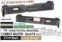 NOVA スライドセット TTI Combat Master Glock19 KJワークス Glock19用 MSMA-049-BK-32000-WOE