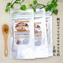 【送料無料】ナットウキナーゼ 【3袋セット】約3ヵ月分 レシチン ビタミンEも配合 納豆でサラサラ健康