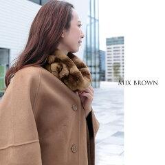 リアルファーレッキススヌード/レディースもこもこ【ゆうパケットで送料無料】ふわふわ心地いい肌さわりあったかい暖かいファースヌードレッキスファー冬防寒具毛皮ファーマフラースカーフ女性用ファーマフラー