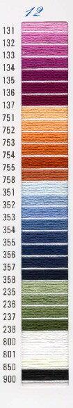 刺しゅう糸(25番) 【オリムパス】の商品画像