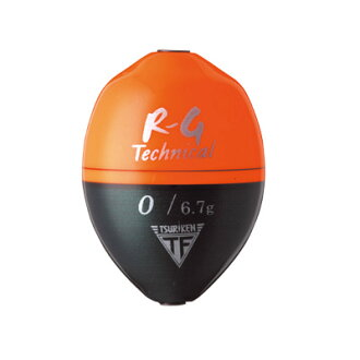 Technical laboratory of fishing (TSURIKEN) cone ウキ R-G (orange)