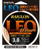 東亜ストリング(TOA) 道糸 ナイロン レグロンソフト LEO Mozart 150m(オレンジ) 1.8〜2.5号