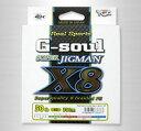 YGK よつあみ PEライン G-soul スーパージグマン X8 1.2号 25lb 200m (Y-Game)