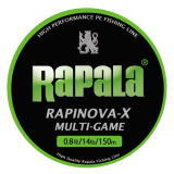 Rapala (Rapala) PE line lapinova x multi-game 200 m 0.8 to 1.5 No. /17.8-29.8 Lb