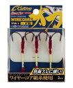 【5枚セット】オーナー(OWNER) 太刀魚専用フック TFW-3 ワイヤーコア太刀3本 (set0420)