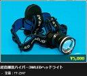 【75%OFF】ジェネシス(GENESIS) 超高輝度ハイパー3WLEDヘッドライト TT-2547