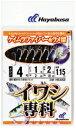 ハヤブサ(Hayabusa) サビキ 【HS453】イワシ専科 ケイムラファイバー&ラメ留 1〜8号 【メール便発送可】  (SBK) (TK-ASI)