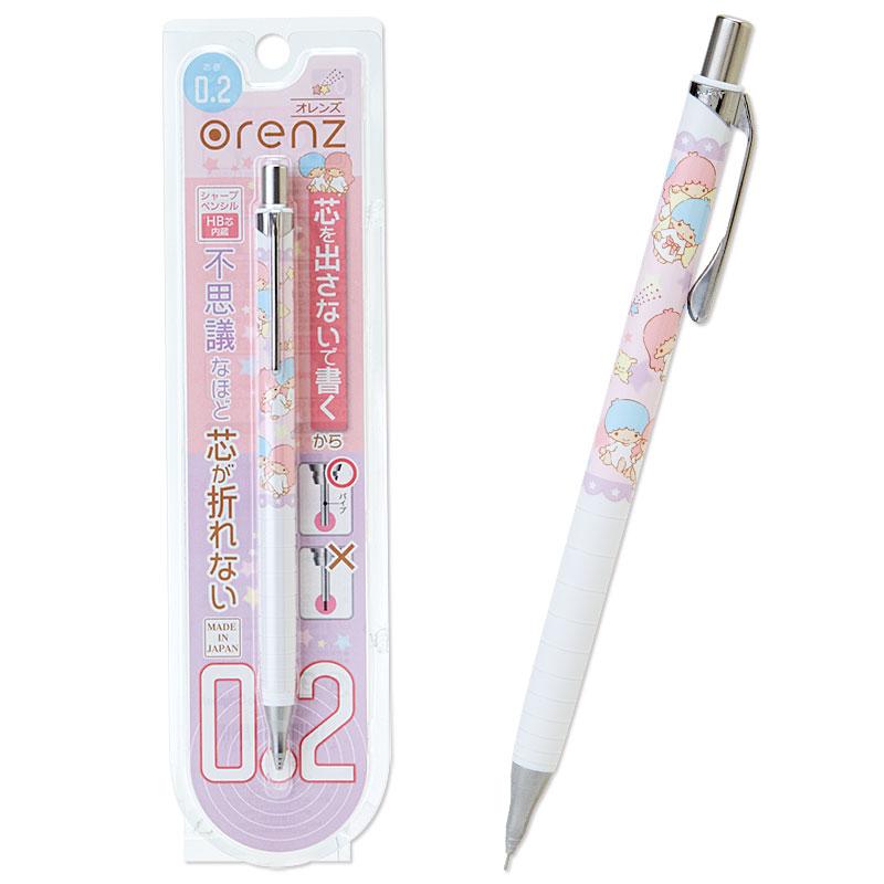 リトルツインスターズ 0.2mmシャープペン【オレンズ】...:sanrio:10034769