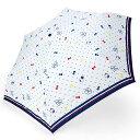 ハローキティ 折りたたみ傘(マリンりぼん)