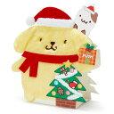 ポムポムプリン クリスマスライト&メロディカード(ふかふかプリン)