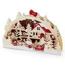 ハローキティ 木製クリスマスライト&メロディカード