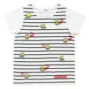 けろけろけろっぴ 大人Tシャツ(STRIPE)