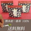 粉末緑茶/粉末煎茶 2018年新茶! 50g×3個セット 熊本産 石臼でじっくり挽いています。【ポイント消化】
