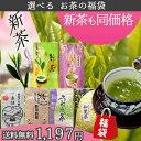 お茶 新茶 大人気!お茶の福袋 100g×3袋他 セットが選べて送料無料!熊本を応援下さい!鹿児島茶
