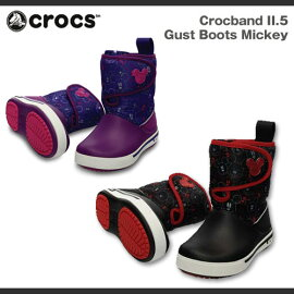 �ڥ��å�������˥��ۥ���å�������å��Х��2.5�����ȥ֡��ĥߥå���CrocsCrocband2.5GustBootsMickey