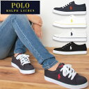 ポロ・ラルフローレン カジュアル スニーカー 靴/POLO RALPH LAUREN CASUAL SHOES / BRISBANE ブリスベン / ポロ ラルフローレン ブランドキャンバスシューズ/送料無料