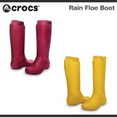 【レディース】クロックス レイン フロー ブーツ ウィメンズCrocs Rain Floe Boot Womensブーツ 長靴 レインブーツ/送料無料