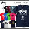 【2個以上購入で5%OFFクーポン配布中! 10/24(月) 17:59まで】【メール便をご指定で送料無料】 60種類以上☆STUSSY Tシャツ/ステューシー T-SHIRTS メンズ stussy tシャツ