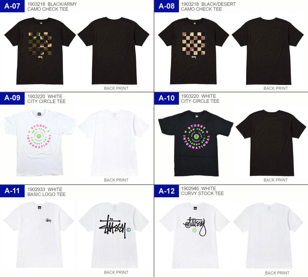 【メール便をご指定で送料無料】STUSSYT-SHIRTS/ステューシーTシャツメンズ