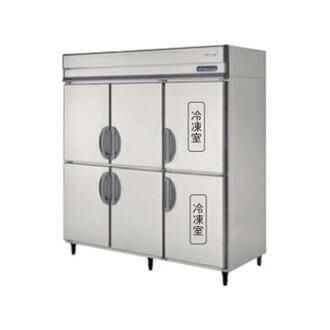立式冷藏冷凍的冰箱 D800mm 不銹鋼內部 (福島) 製冷製冷 4 2 200 V 廚房用具烹調設備惜 182PMD6 W1790 * D800 * H1950 (mm)