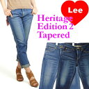 【送料無料】Lee (リー) -Lady's- Heritage Edition 2 Tapaeredテーパードカットジーンズ/ロールアップデニムLL0511【smtb-k】【ky】