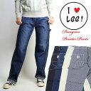 Lee (リー) -Lady's- DUNGAREES ペインターパンツ LL4288 ホワイトデニム 【送料無料】 lp-ca