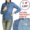 【レビューを書いて送料無料】 LEE (リー) -Lady's- デニムウエスタンシャツ Heritage Edition 2 LL0338 【smtb-k】【ky】