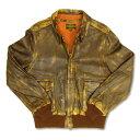 【消費税当店負担】 AVIREX(アヴィレックス)A-2 Vintage Wash -レザージャケット- /20061225祭5... ...